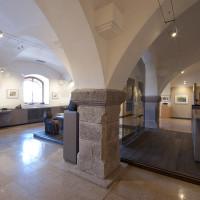 Expoziční prostory v centrální části.