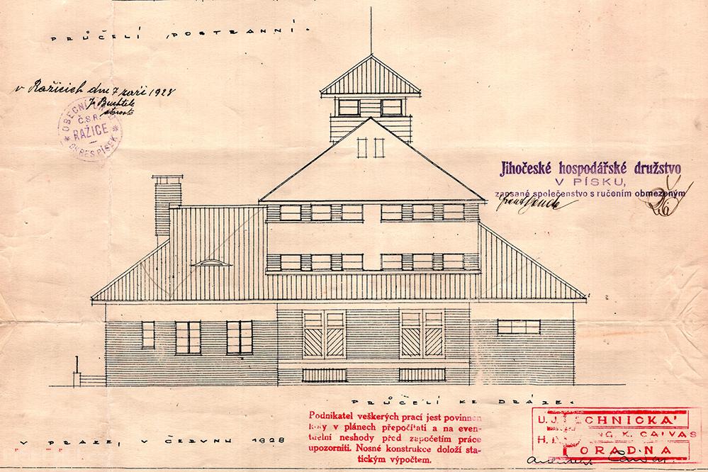 Plán z roku 1928