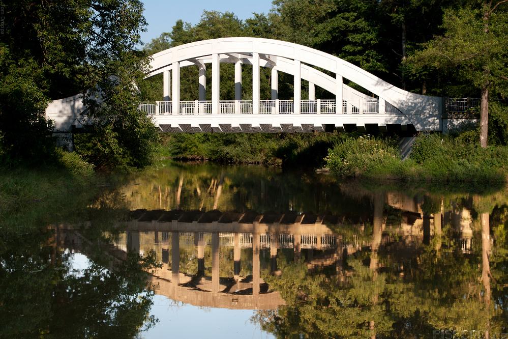 Mirotický most s odleskem starých časů...