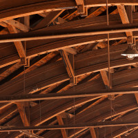 Detail segmentového krovu