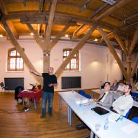 Ing. Vonka přednáší o komínech